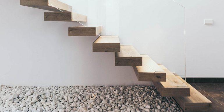 Villa de lujo de nueva construcción en Jávea Balcón al Mar - Escalera al sótano - ID: 5500698