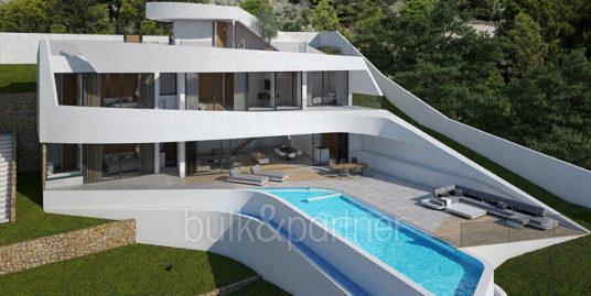 Modern villa with unbeatable sea views in Altéa Hills