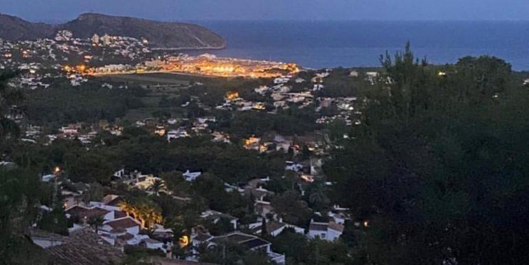 Luxury villa with incredible sea views in Moraira Benimeit - Views by night - ID: 5500697 - Architect CÍRCULOAZUL