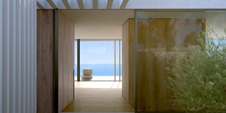 Luxusvilla mit unglaublichem Meerblick in Moraira Benimeit - EIngang - ID: 5500697