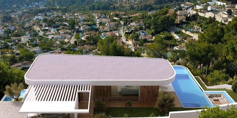 Luxusvilla mit unglaublichem Meerblick in Moraira Benimeit - Meerblick - ID: 5500697 - Architekt CÍRCULOAZUL